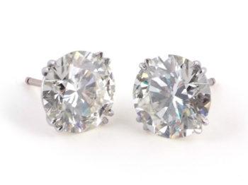 11ct diamond ear studs