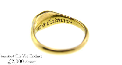 16th Century Inscribed Ring