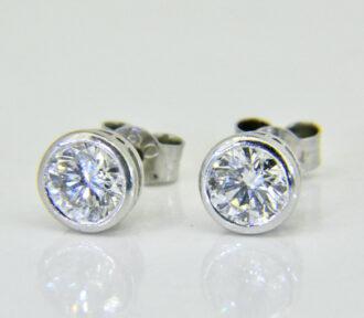 1ct diamond studs