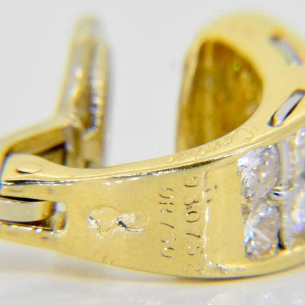 Cartier 1ct diamond earrings £3,500 at Jethro Marles