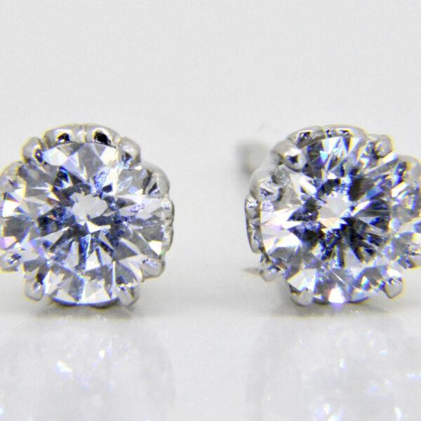 diamond studs 1.2ct £2,500 Jethro Marles