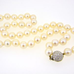 9mm cult pearl necklace