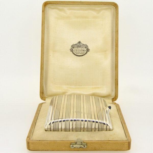 Faberge cigarette case £2250 at Jethro Marles