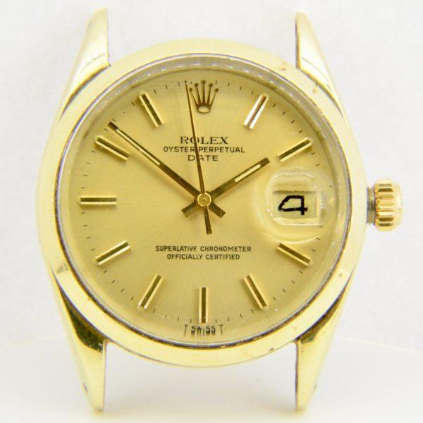 Rolex Oyster Perpetual date wristwatch
