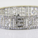 1920's French diamond bracelet