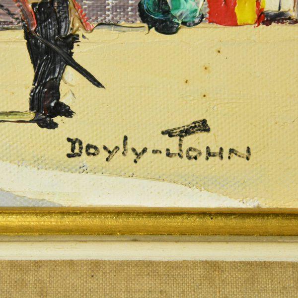D'Oyly-John St Paul de Vence signature