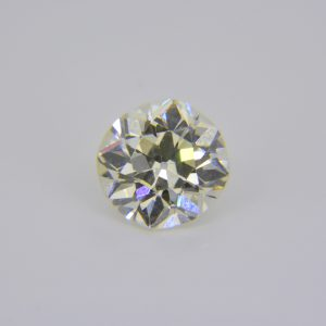 2.04ct I colour VVS clarity round old brilliant cut diamond