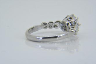 1.23ct D VS1 diamond ring