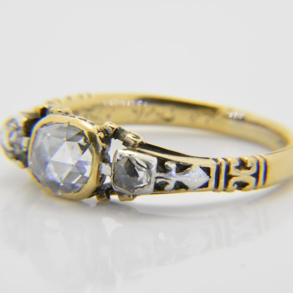 Antique rose diamond ring for sale