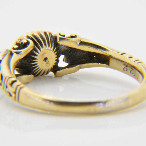 Antique rose diamond ring for sale