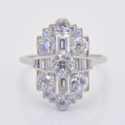 1930s art deco diamond ring