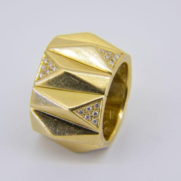 Versace diamond ring