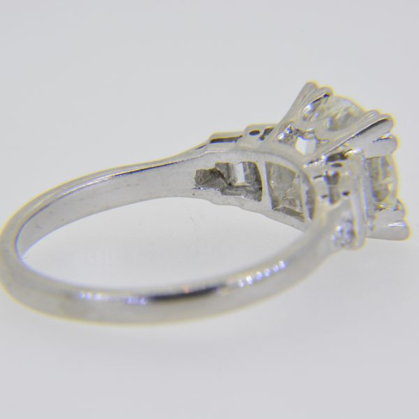 1.85ct solitaire diamond engagement ring