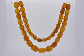 Natural Baltic Amber bead necklace
