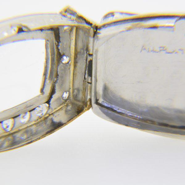 Lady's 1930s diamond cocktail wristwatch
