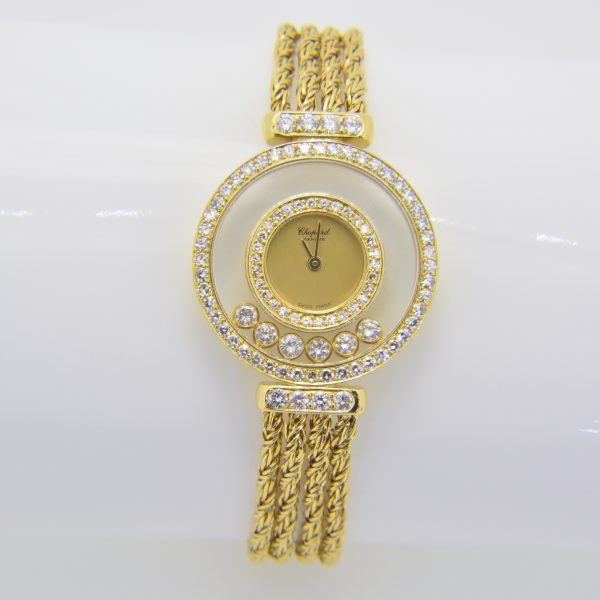 Chopped Happy Diamonds wristwatch