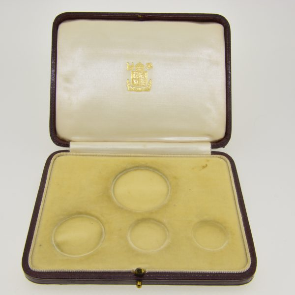 1937 4 gold coin specimen set case
