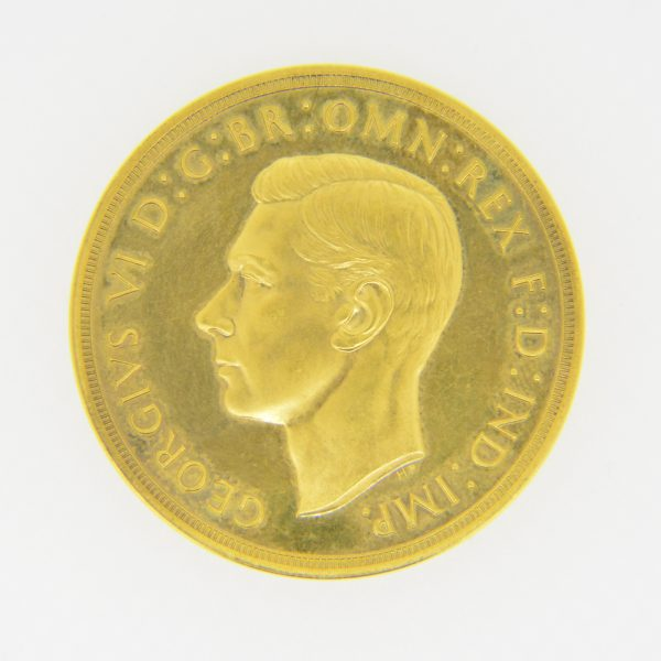 1937 £5 obverse