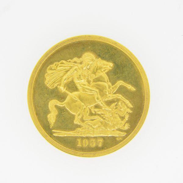 1937 £5 reverse