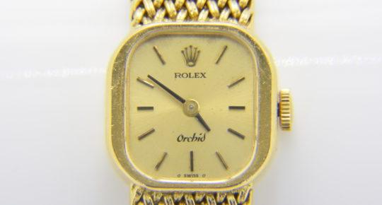Rolex, Ladys Orchid 18ct, wristwatch