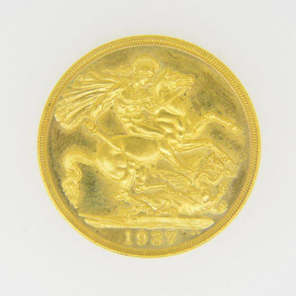 1937 £2 reverse