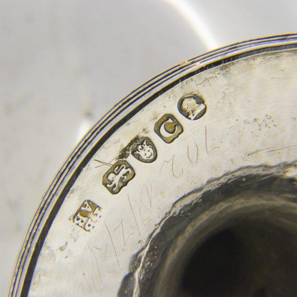 George III wine goblet