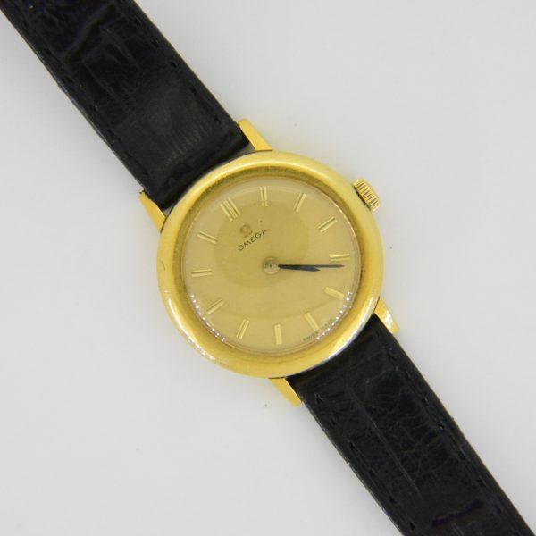 Ladys,Omega,18K,wristwatch