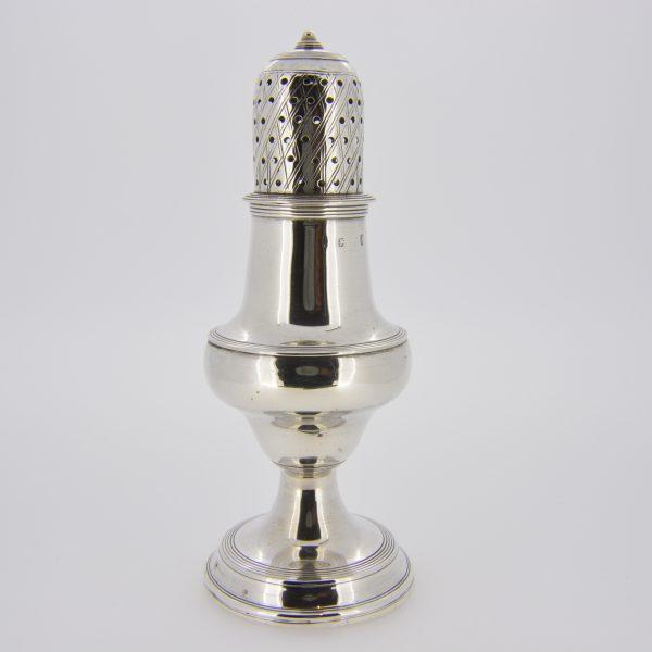 Georgian silver pepper