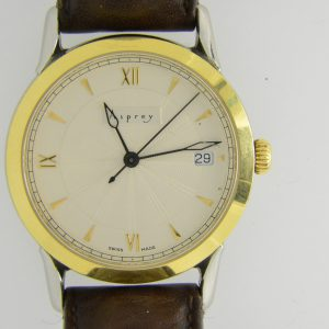 Asprey automatic gold plated wristwatch