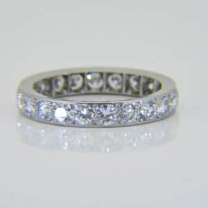 1940s 2ct diamond et ring