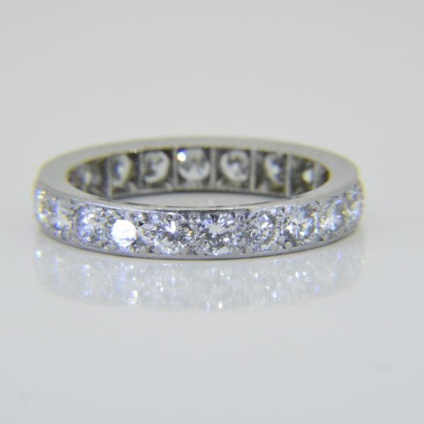 1940s 2ct diamond et ring