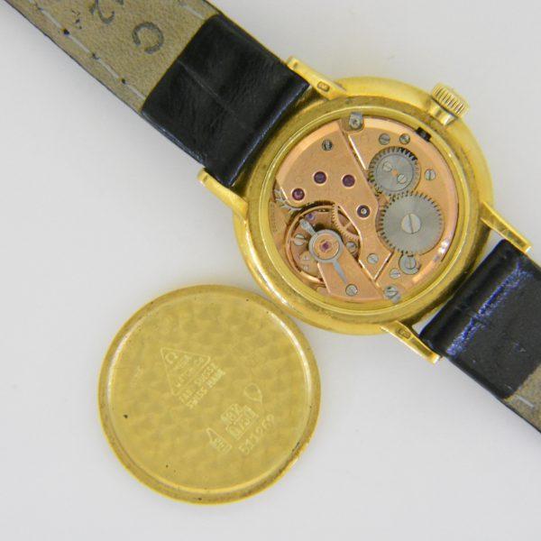 Ladys 18k Omega circular wristwatch