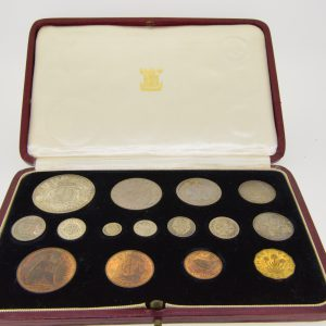 1937 fifteen coin specimen set