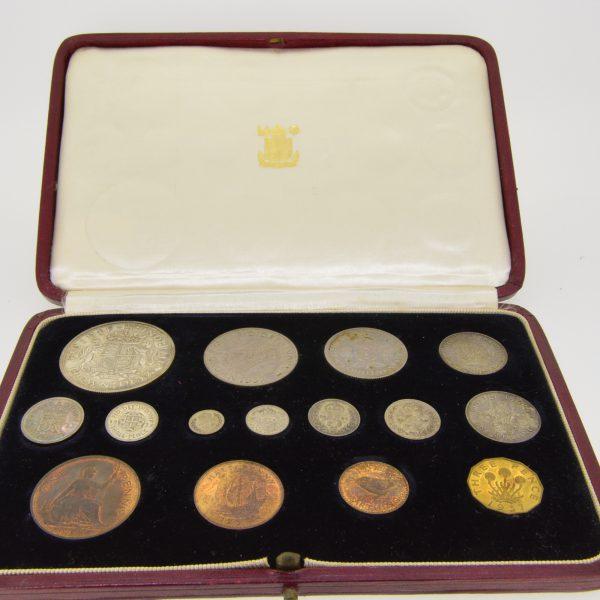 1937 fifteen coin specimen set