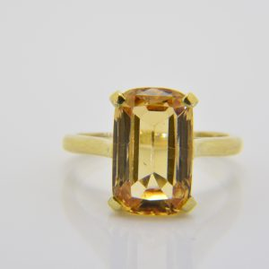 Bulgari topaz ring