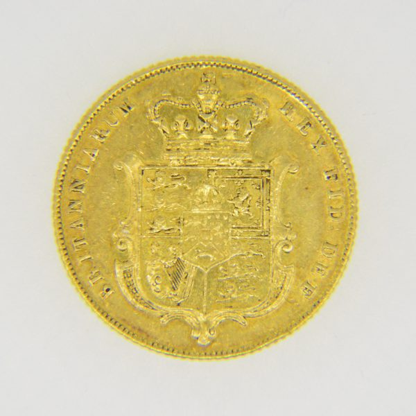 George IV sovereign,1825