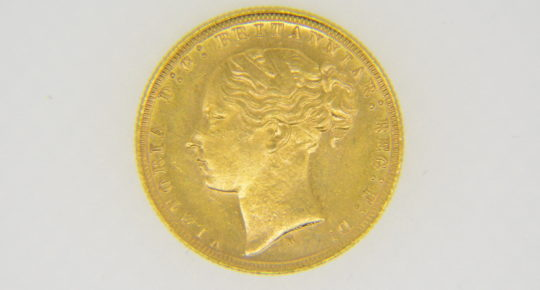 Victorian sovereign 1879