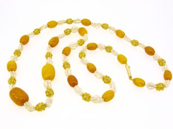 Sell amber bead necklace