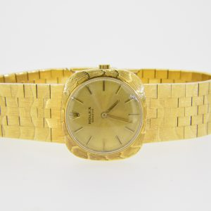 Rolex, lady's 18ct gold wristwatch