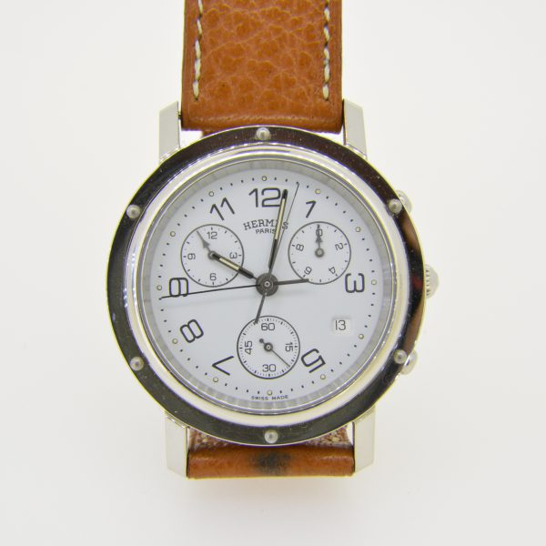 Hermes clipper wristwatch