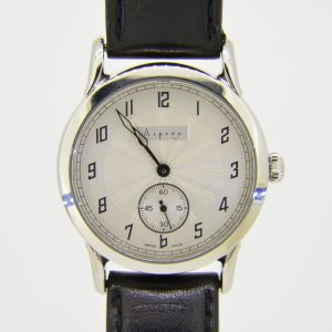 Asprey steel wristwatch
