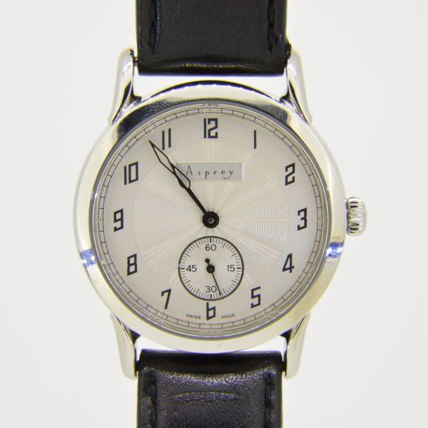 Asprey steel wristwatch