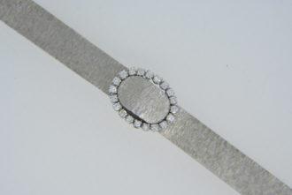ladys 18ct diamond Leysen watch
