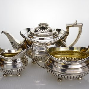 Georgian silver 3-piece tease 1816