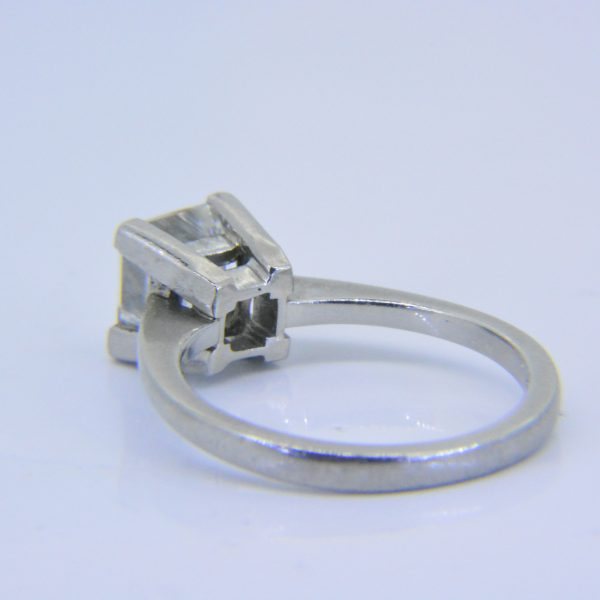 1.55ct princess diamond solitaire