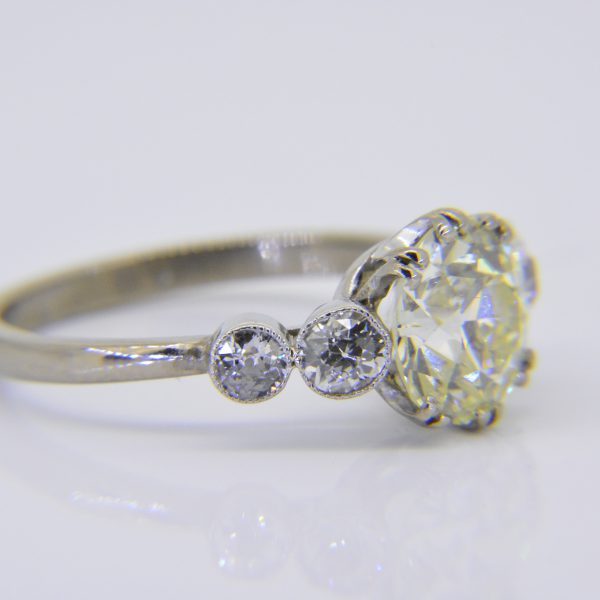 2.5ct diamond ring