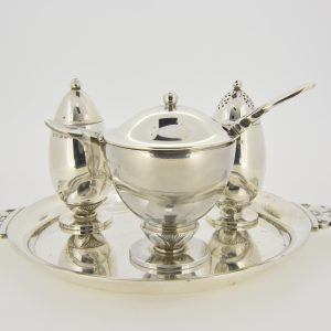 Georg Jensen 4-piece condiment set 629