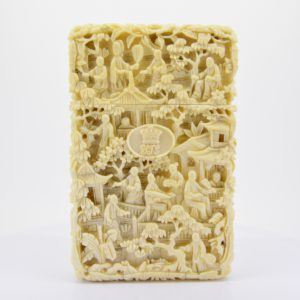 Chinese ivory card case