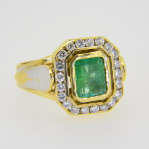 Not for sale emerald ring