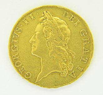 Five Guineas 1729